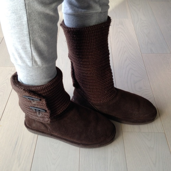 BearPaw Shoes | Knit Bearpaws Boots