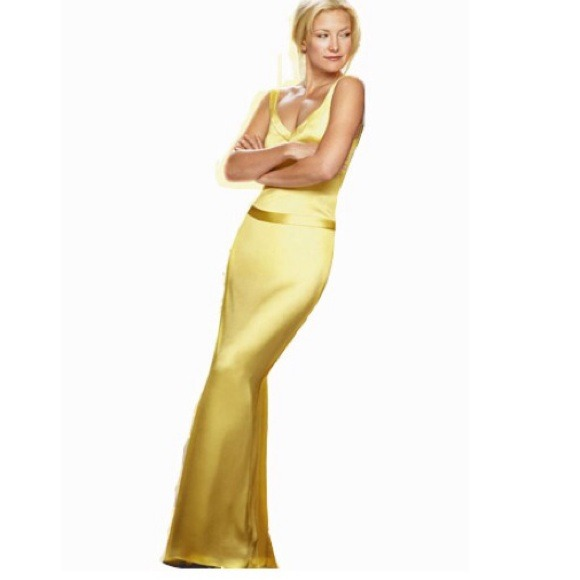 Dresses  Yellow Gown How To Lose A Guy In 10 Days Dress -1853