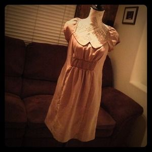 Maeve for Anthropologie Dress in Taupe