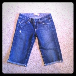Paige never worn denim Bermuda shorts!