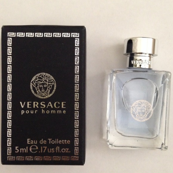 Versace Other   Pour Homme Men Miniature 17oz5ml Edt Nib   Poshmark afea294a0f6