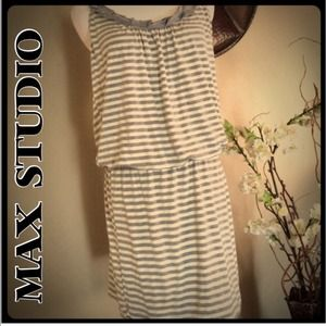 Max Studio striped dress