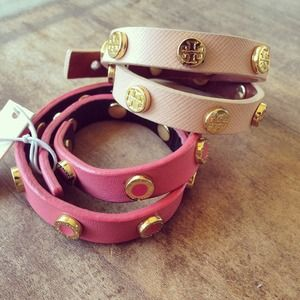 Tory Burch Double Wrap Bracelets