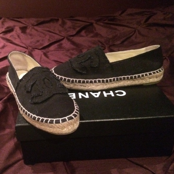 CHANEL Shoes | Chanel Espadrilles In