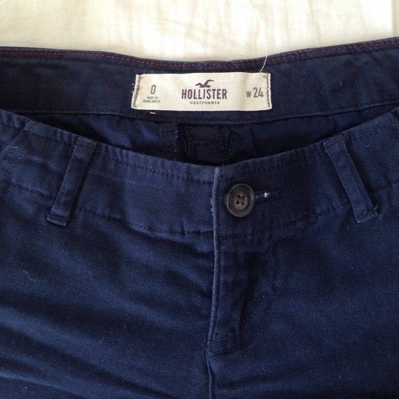 71% off Hollister Pants - Navy blue hollister shorts from Rayan's ...