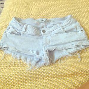 Brandy melville demin shorts