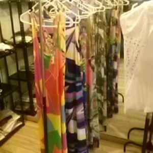 Mens shits Women's long dresses
