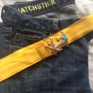 "J. Crew Accessories - ❤️ J. Crew grosgrain ""critter"" belt"