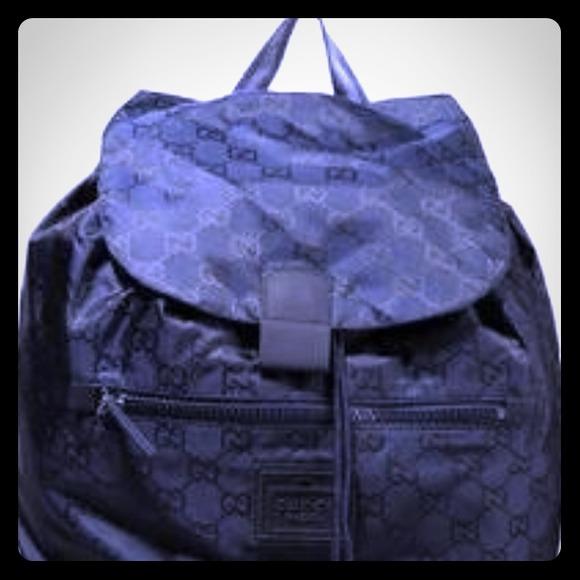 Gucci Handbags - Gucci BackPack 💯 Authentic .. Comes w  Receipt 136428f24742c
