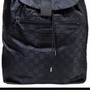 Gucci Bags - Gucci BackPack 💯 Authentic .. Comes w  Receipt 3eae492f8cb3f
