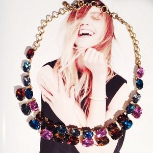 ON HOLD J.Crew multicolor stone necklace