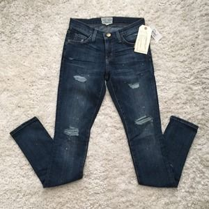 NWT Current Elliot Skinny Love Destroyed