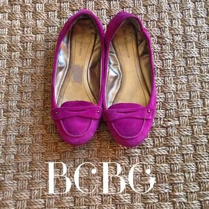 BCBG Shoes - BCBG Purple Tanja Loafer Flats 7 1/2