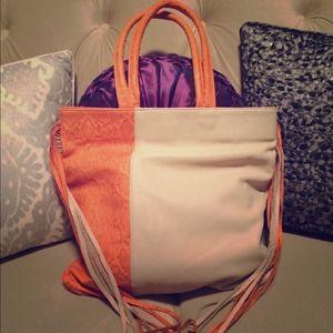 Zara Terez Handbags - NWOT Zara Terez Snakeskin Embossed Fringe Tote