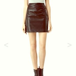 Beautiful All Saints Leather Skirt