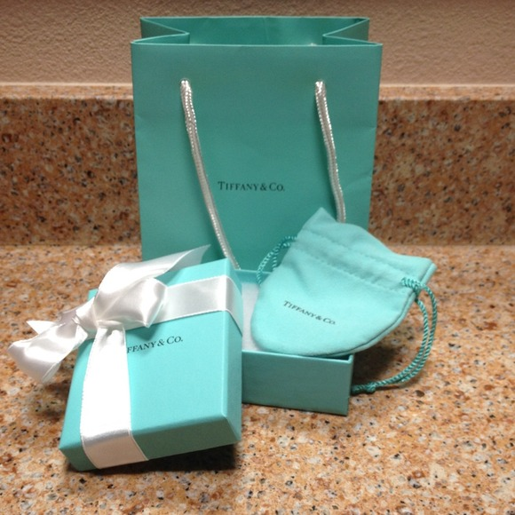 b0f6c471e8 Tiffany & Co. Jewelry | Sale Authentic Tiffany Co Bagboxpouch | Poshmark