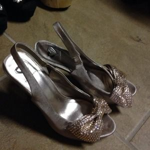 Steve Madden peep toe pumps