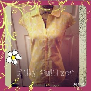 Lilly Pulitzer Tops - MOVING: FINAL SALE.   Lilly Pulitzer top