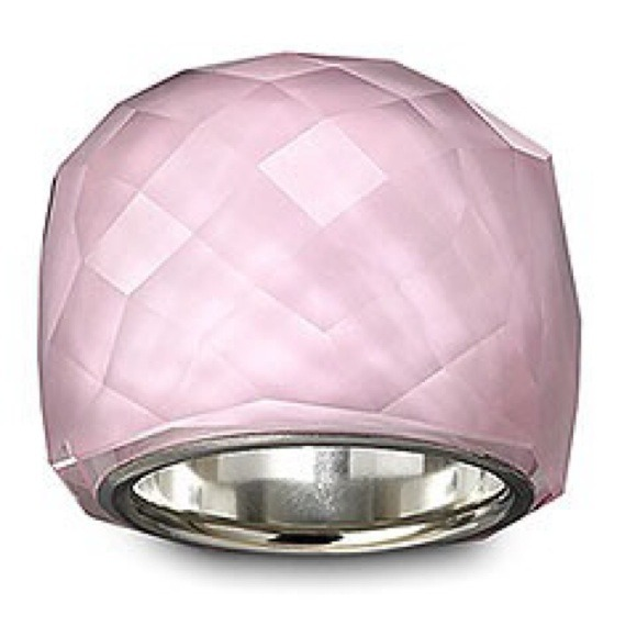 4942709b4f8c 💚Marked down💚Swarovski Nirvana Pink Flash Ring. M 53ffdf444845e6181b117719