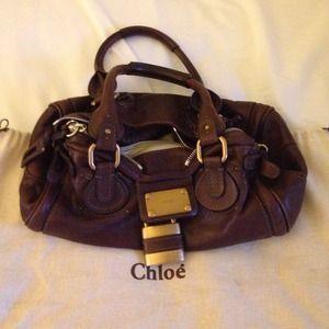 91% off Chloe Handbags - Authentic Chloe Paddington Leather ...