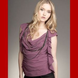 Robert Rodriguez draped necklace top