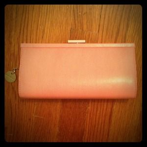 Lulus Pink Textured Clutch