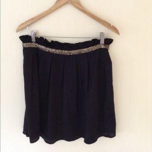 Urban Outfitters A Line Skirt w/ Emebllishments