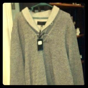 Zachary Prell Outerwear - Gray Zachary Prell Menswear Sweatshirt