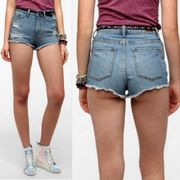 89% off Urban Outfitters Denim - BDG high rise cheeky shorts from ...