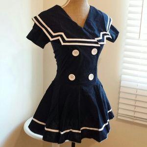 Roma Hollywood Dresses - TEMP SALE! Vintage Sailor Girl Halloween Costume & Roma Hollywood Dresses   Temp Sale Vintage Sailor Girl Halloween ...