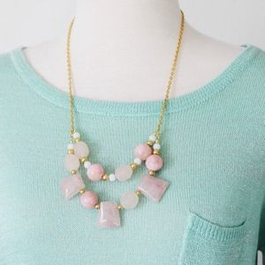 Jewelry - Rose Quartz Layered Necklace