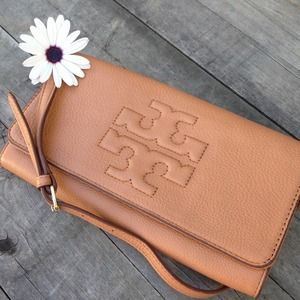 Tory Burch Thea Bombe Convertible Clutch