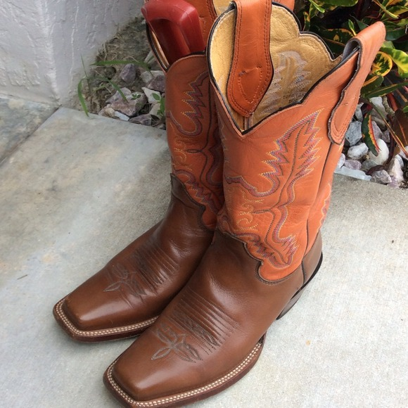 Justin Boots - Justin Women s Cowboy Boots Size7 ee8e2e5bc3