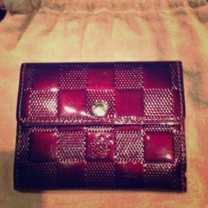 Authentic Louis Vuitton Vernis Damier Wallet