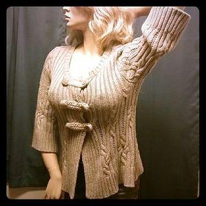 Heavy Knit Cardigan