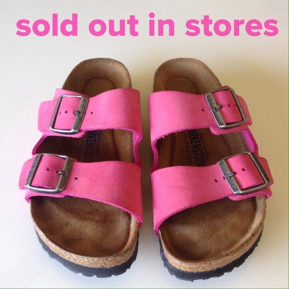 25 Off Birkenstock Shoes Birkenstock Arizona Pink