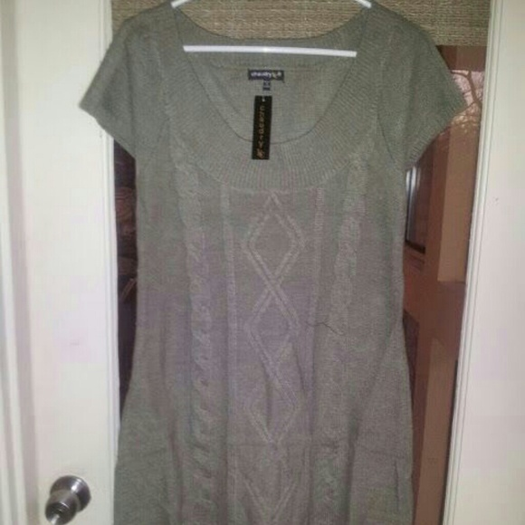 Chaudry KC Tops - FLASH SALE! NWT Chaudry KC Olive Green Tunic/Dress