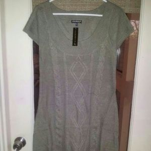 FLASH SALE! NWT Chaudry KC Olive Green Tunic/Dress