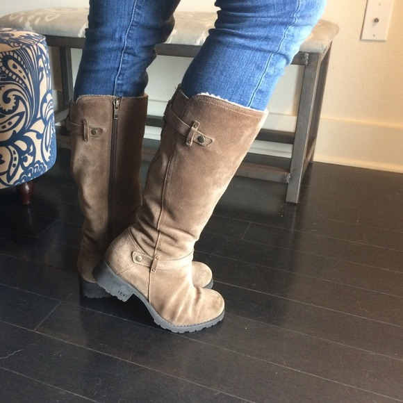 womens jillian suede ugg riding boots
