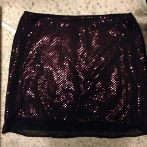 Dresses & Skirts - Sheer n sparkly skirt