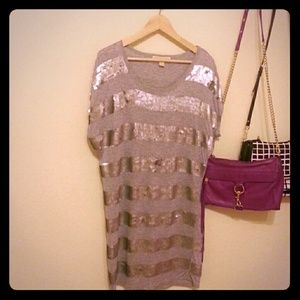 Michael Kors sequin long top
