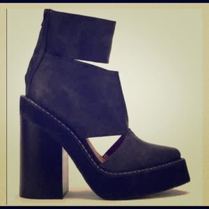 Amazing Jeffrey Campbell cutout boots