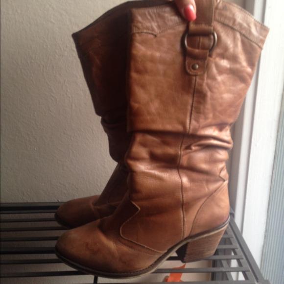 5130b9eada7 Steve Madden cowgirl boots. M 54027bce2b7b313af81f3966
