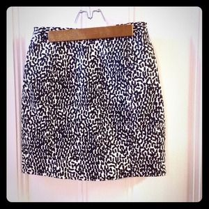 Diane von Furstenberg Clyde printed mini skirt