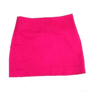 88% off Express Dresses & Skirts - Hot pink Express mini from ...
