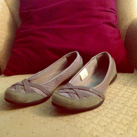 69f303aebe626 Champion Shoes - Cute gray champion flats - worn several times