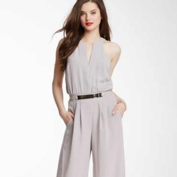 4e43caca9ed7 Vince Camuto jumpsuit romper metal belt S or 4