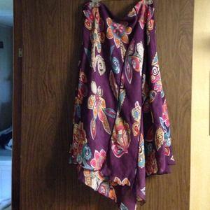 Nine West handkerchief tail skirt ladies size 10