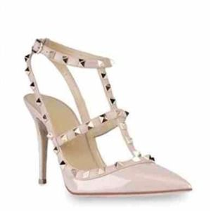 Nude Pump with Studs!