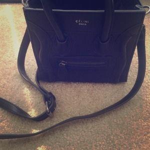 celine micro luggage tote buy online - 80% off Celine Handbags - ? DESIGNER INSPIRED HANDBAG ? from ...